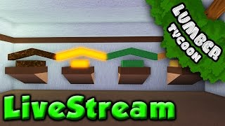 Lumber Tycoon 2 - Building Wood Shop! LIVESTREAM - France Roblox