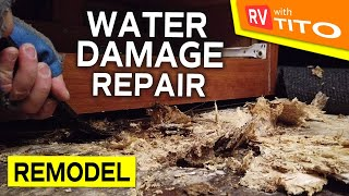 RV REMODEL - Water Damage Floor Repair