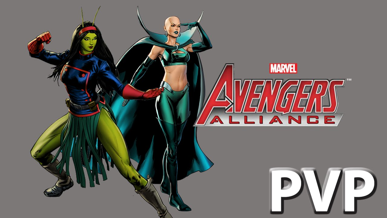 marvel avengers alliance moondragon at level 6 with