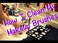 How I clean my Makeup brushes | Ft. DUcare Dry Stand