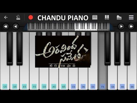 Yeda Poyinado - BGM Piano Cover | Aravindha Sametha #ASVR