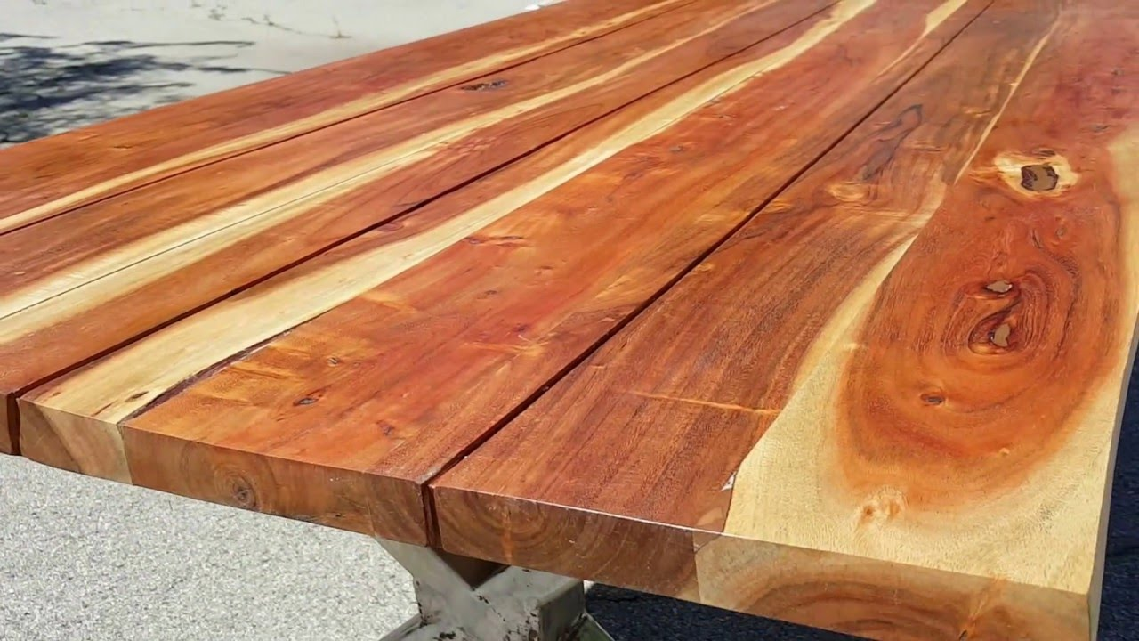 Acacia Wood Table   006 SOLD