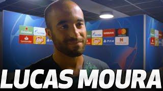 HAT-TRICK HERO LUCAS MOURA ON AMAZING AJAX SEMI-FINAL WIN