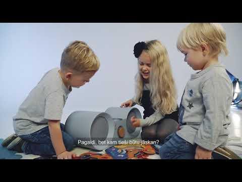 BABBIT – unikāla mūzikas atskaņošanas iekārta ģimenēm ar maziem bērniem
