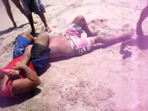 Fraga na praias
