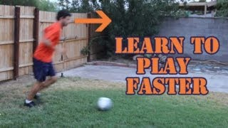 Soccer drills * how to dribble with your head up ~ online soccer academy