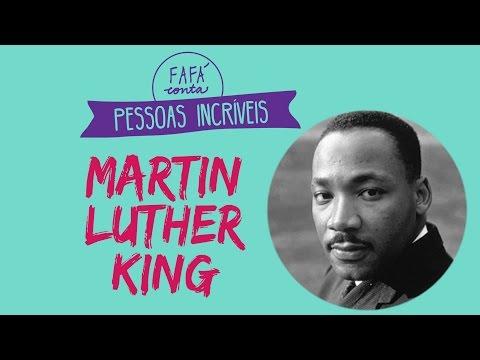 MARTIN LUTHER KING para crianças - Fafá conta pessoas incríveis