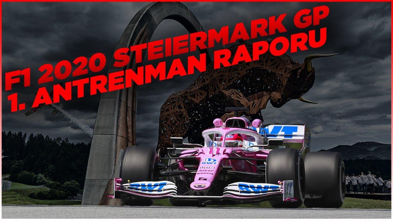 2020 Steiermark GP (Styrian GP) 1. Antrenman Raporu: Perez, Verstappen'in önünde lider!