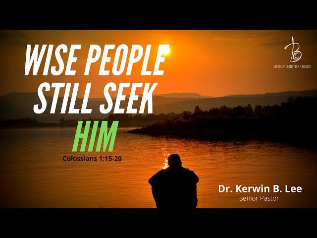 1/26/2021 Wise People Still Seek Him