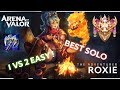 ROXIE MASTER - Meilleurs héros solo lane ! Arena of Valor FR