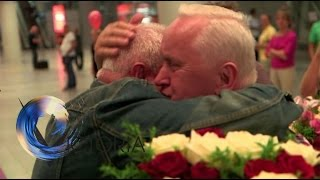 Twins reunited after 70 years apart - BBC News streaming