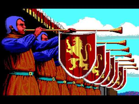Defender of the Crown (PC/DOS) 1987, Cinemaware, EGA