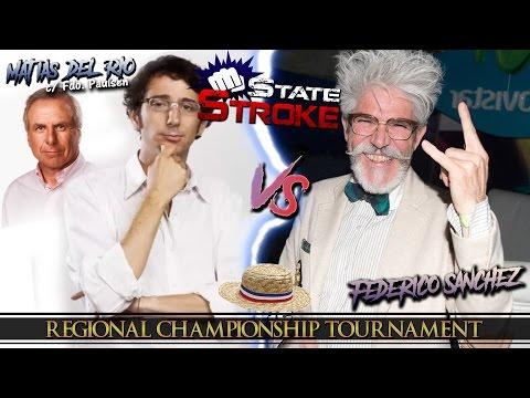 [State Stroke 03] Matías del Río Vs. Federico Sánchez - Regional Championship Tournament