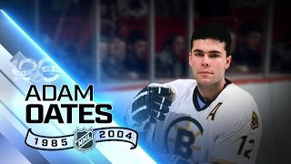 Adam Oates NHL's fourth all-time assists leader
