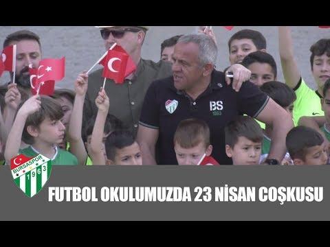 Futbol Okulumuzda 23 Nisan Coşkusu