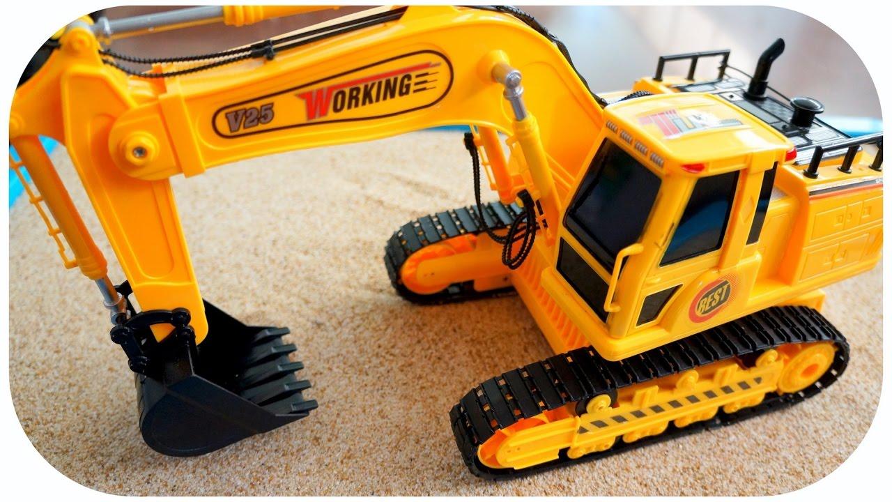 Mainan Excavator Bego Beko Anak Youtube Boneka Panggung Orang Laki Anton