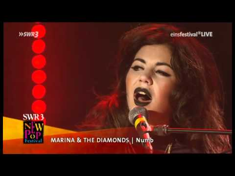 Marina & The Diamonds - Numb (Live @SWR3 New Pop Festival)
