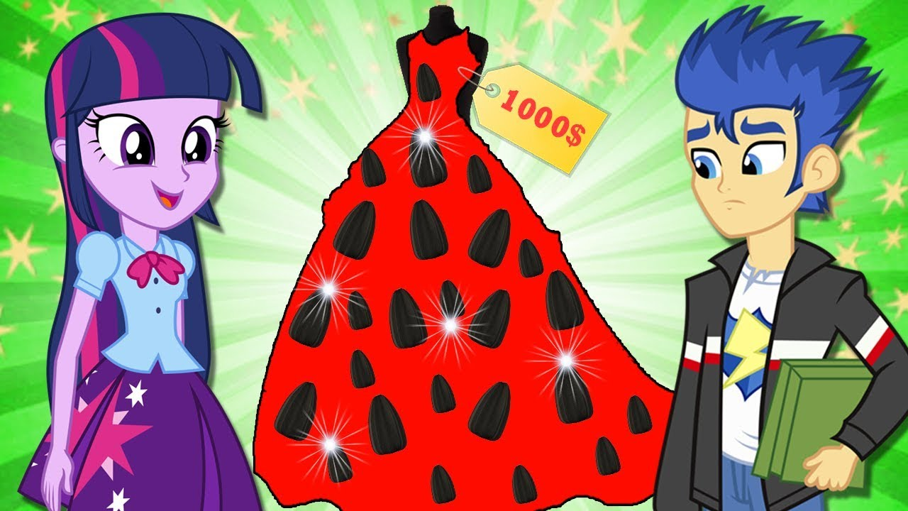 ✅Equestria Girls The Story Funny Best Friends Dress Design Contest at School | MLP Animation
