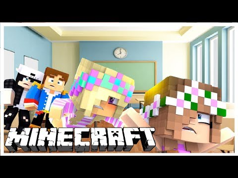 BABY FLO WALKS AGAIN AND STARTS SCHOOL WITH BABY LEAH   Minecraft Custom Modded Roleplay