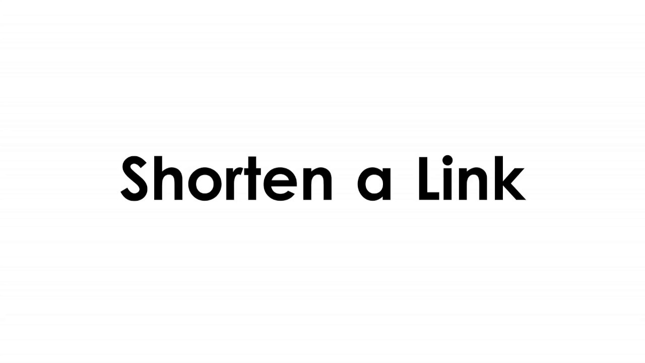 How to Shorten a link? Paybitly.com #1