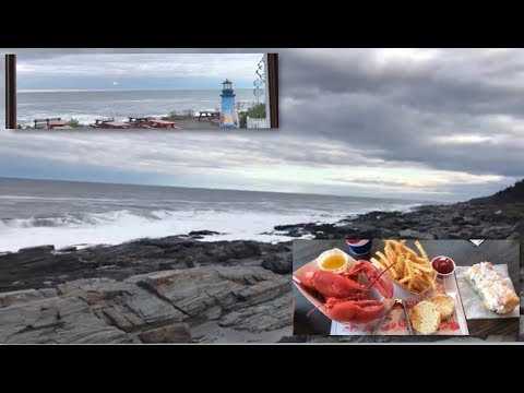 enjoying the incredible maine coast and cuisine!