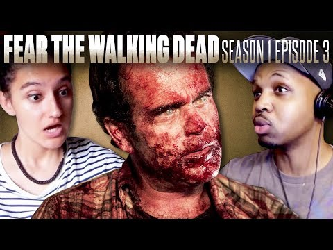 "Fear The Walking Dead - Season 1 Episode 3 ""The Dog"" - Fan Reaction Compilation!"
