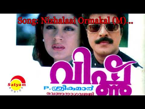 Nizhalai Ormakal Lyrics - Vishnu Malayalam Movie Songs Lyrics