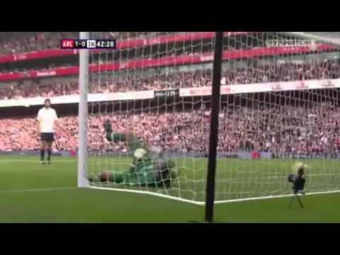 Cesc Fabregas Solo Goal vs Tottenham