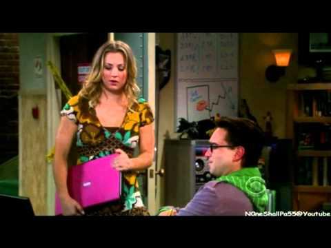 The Big Bang Theory - Sheldon Laughs at Pennys joke! (HD)