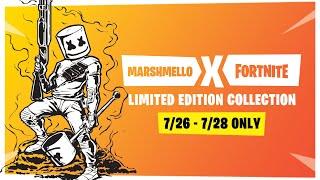 Fortnite Pro-Am World Cup - Marshmello x Ninja Live Stream Round 3
