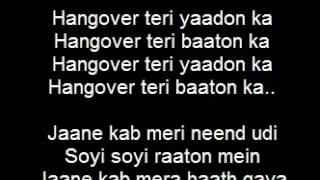 Kick, Hangover Song Lyrics, Salman Khan, Jacqueline Fernandez