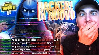 HERE HE IS AGAIN! 1 VS 1 against THE HACKER of PINNACOLI! Fortnite Battle Royale ITA!