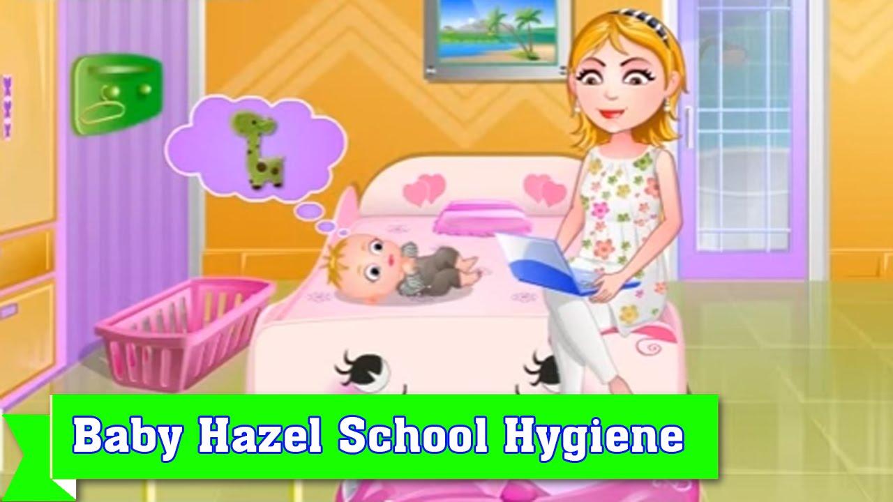 Baby Hazel Games To Play Online Free Baby Hazel School Hygiene Youtube