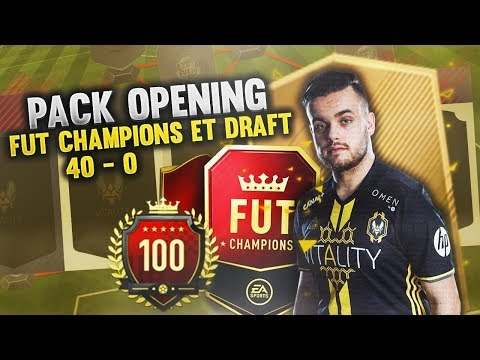 FIFA 18 : PACK OPENING RECOMPENSE FUTCHAMPION 40 0