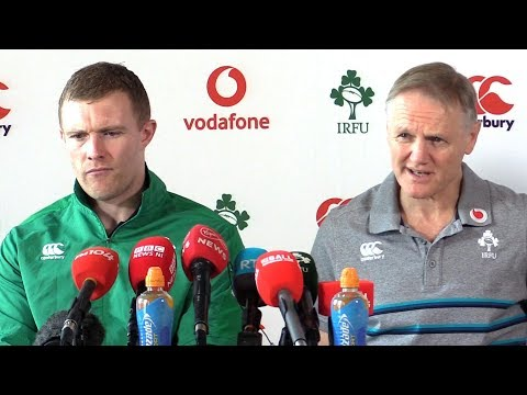 Joe Schmidt & Keith Earls Full Pre-Match Press Conference - Italy v Ireland - Six Nations 2019