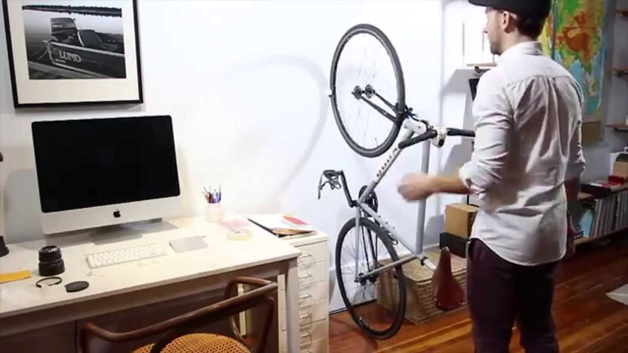 46b6cf2754b Meet CLUG, the world's smallest bike rack. - YouTube