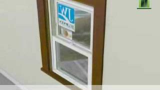 Jeld-Wen Vinyl Replacement Wiฑdow Installation - How To