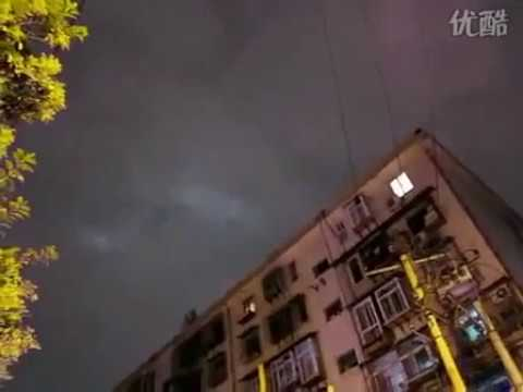 China UFO Sighting of 9 Ghostly Craft in Sky, Sept 1, 2010, 2nd Eyewitness Video.