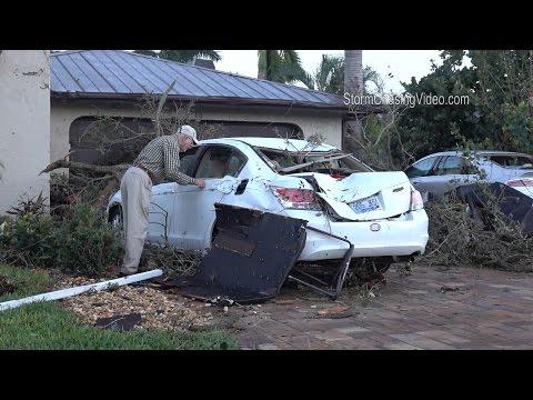 Sarasota, FL Tornado Aftermath - 1/17/2016