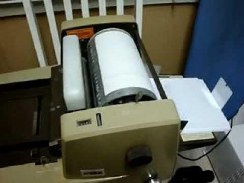 AB Dick Model 217G Spirit Duplicator Ditto Machine In