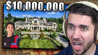 Reacting To Faze Rugs New $10,000,000 MANSION!