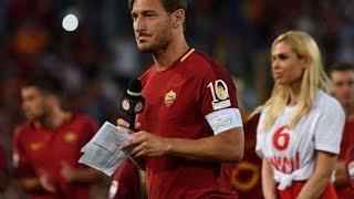 Pidato Mengharukan Francesco Totti (Terjemahan Bhs Indonesia)