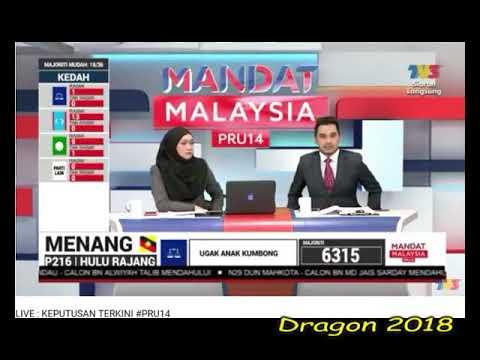 PRU#14 Sejarah Malaysia. PH Menang Tewaskan Kuasa BN