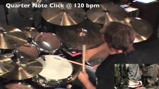 Drum Lesson: Billy Ashbaugh: Practicing With The Click