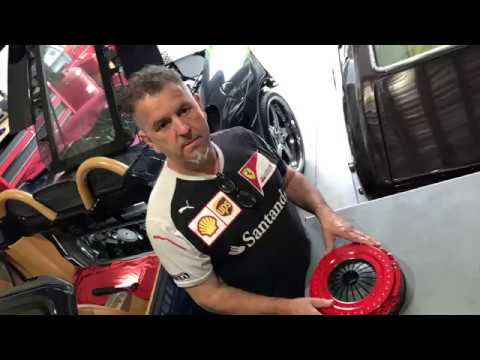 Ferrari Repair New England – Clutch Replacement
