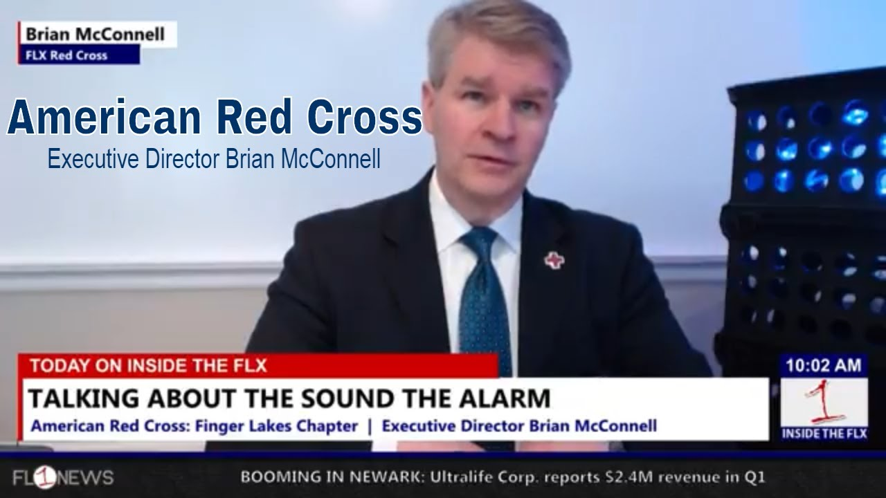 Red Cross Director Brian McConnell on 'Sound the Alarm' .::. Inside the FLX 5/4/18