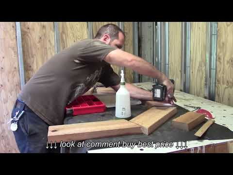 Shipping container conversion series video 14 Making a DIY curved wood molding