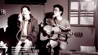 What's Up (acoustic cover) - Việt James feat. Minh Mon (live)
