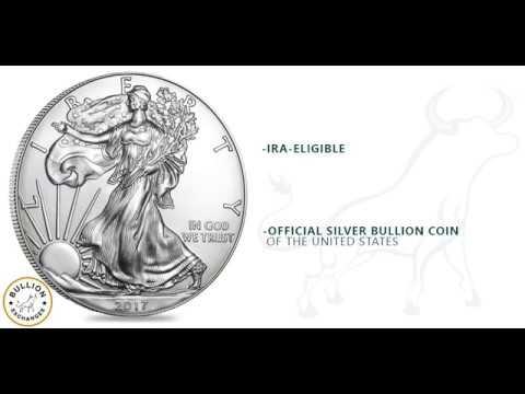 2017 American Eagle 1 oz Silver Coin BU