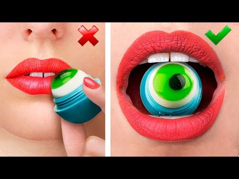 10 Funny Edible Pranks! / Making Things Out Of Jelly